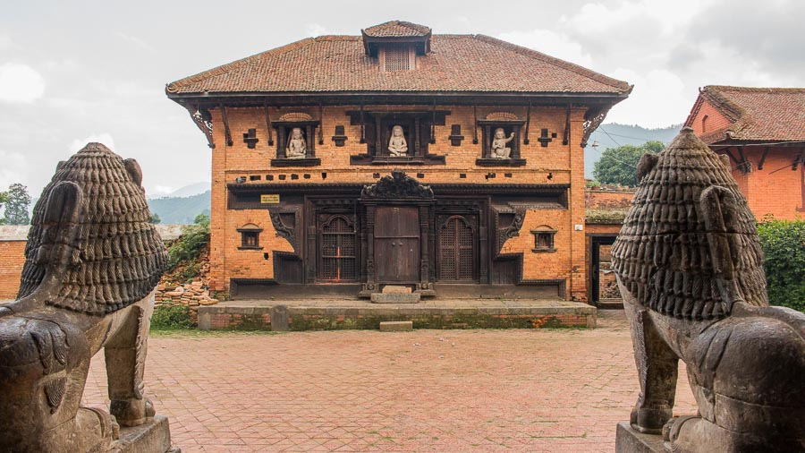 Unmatta Bhairab Temple at Panauti