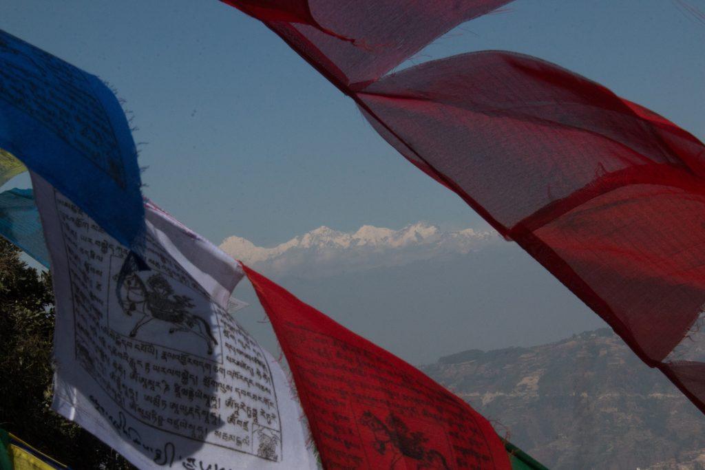 Mountains from Nagarjun trail!