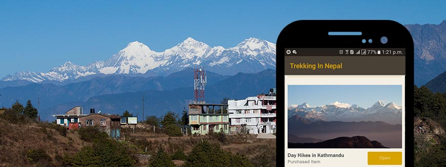 'Day Hikes in Kathmandu' launched in 'Trekking In Nepal' App