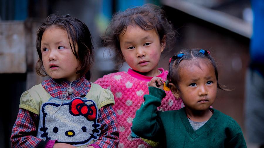 Kids in Tachai