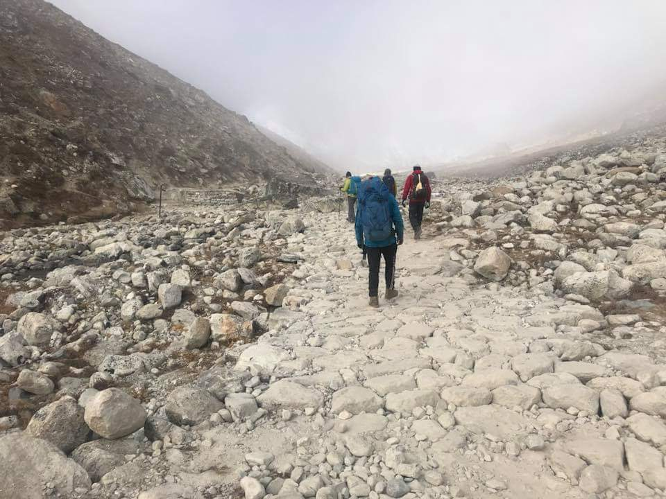 Trail Construction in Everest