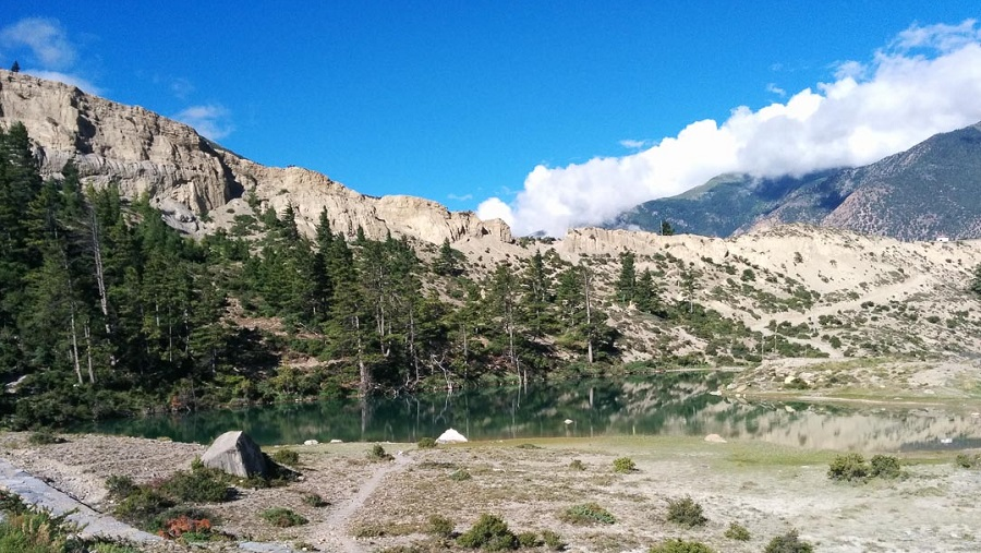 Dhumba lake, Side Trip from Jomsom