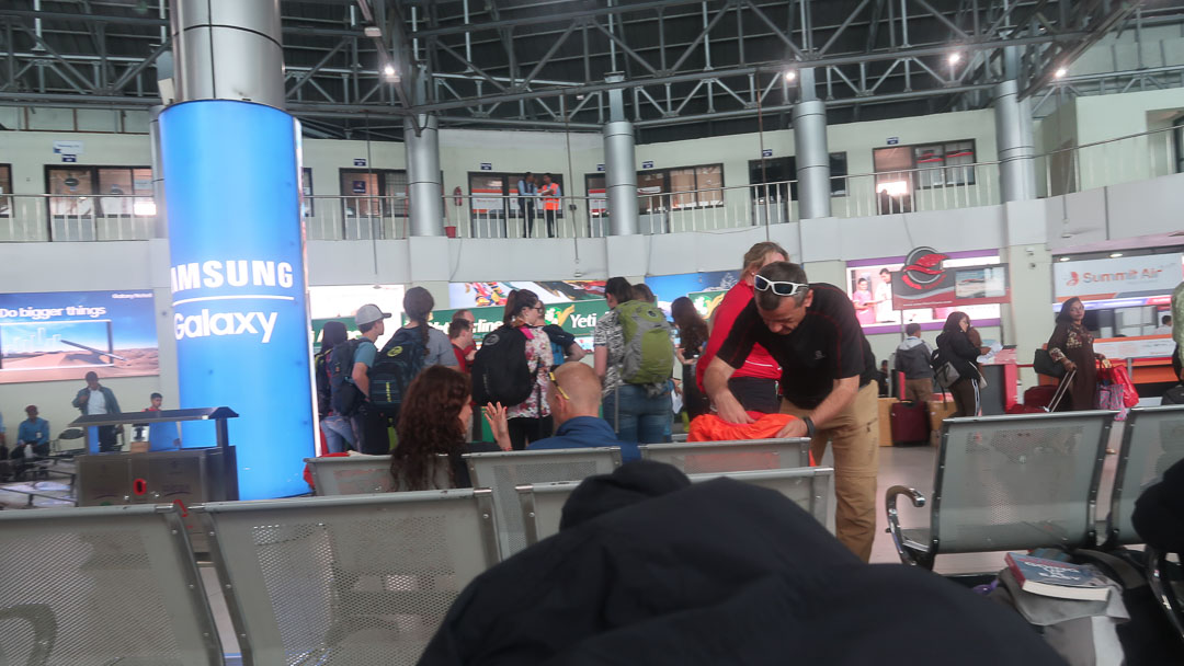 Domestic Terminal Kathmandu