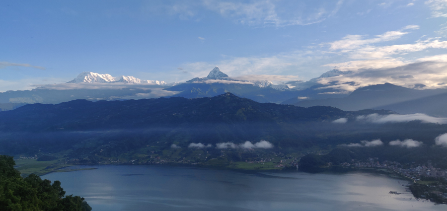 Picturesque city of Pokhara