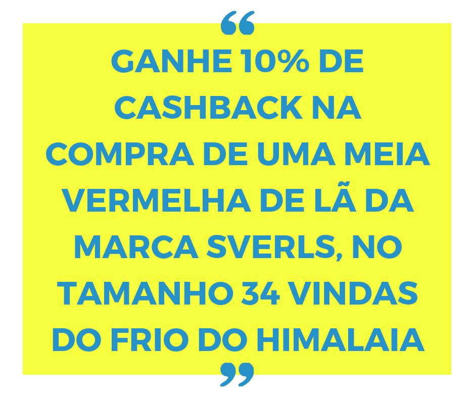 Cashback de verdade com o Compra e Volta