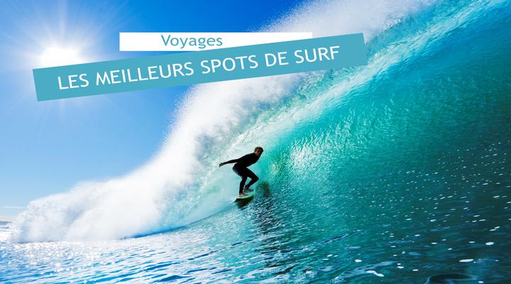 les meilleurs spots de surf