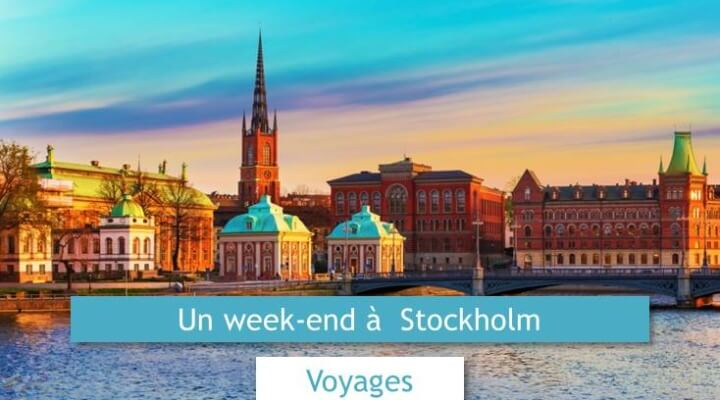 week-end à stockholm