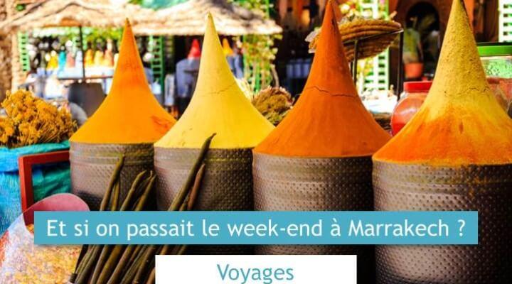 week end marrakech