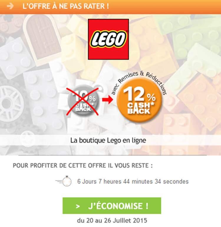 lego est l 39 offre de la semaine sur remises et r ductions. Black Bedroom Furniture Sets. Home Design Ideas