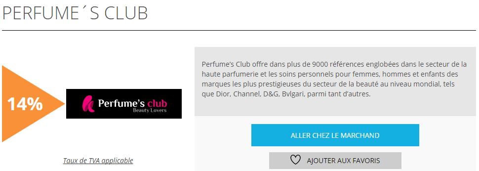 perfume s club est l 39 offre de la semaine sur remises et. Black Bedroom Furniture Sets. Home Design Ideas