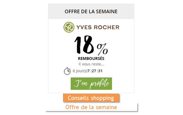 Yves Rocher Remises et reductions