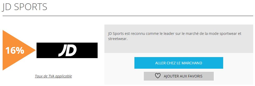 JD Sports est offre de la semaine sur remisereduc.fr
