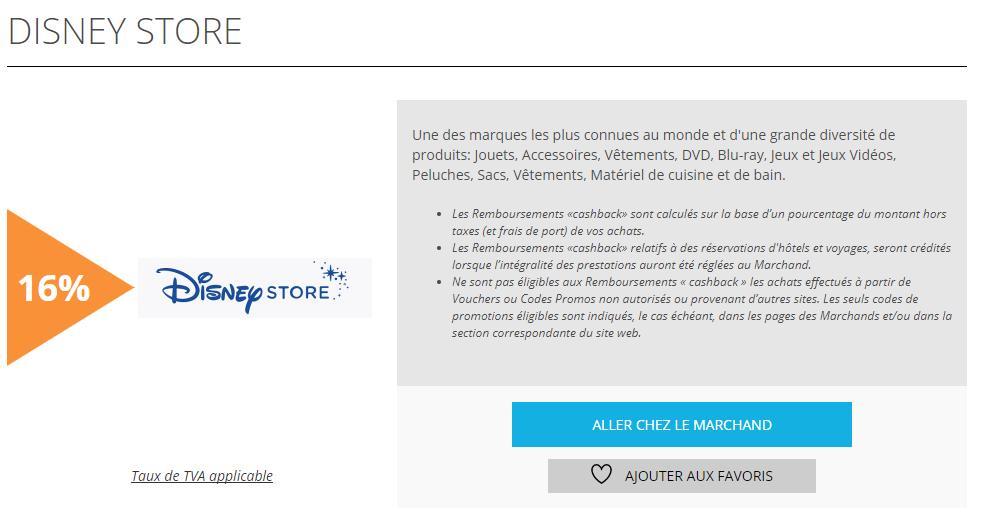 Disney Store est l'offre de la semaine sur remisesetreductions.fr