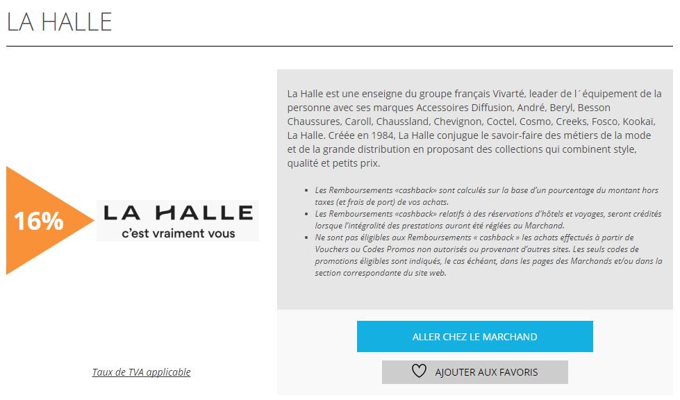 La halle offre de la semaine remisesetreductions.fr
