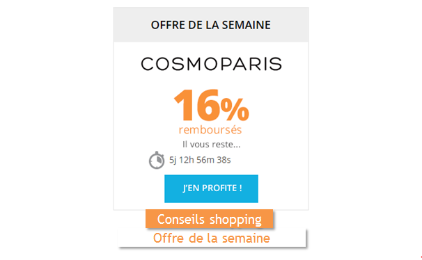 Remises et Réductions CosmoParis