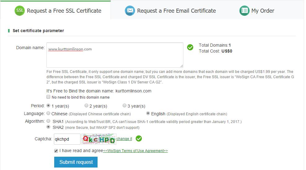 Ssl Certificates Kurt Tomlinsons Blog Bloopist