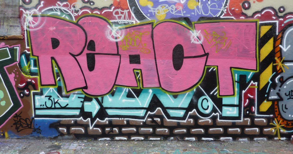 React graffiti