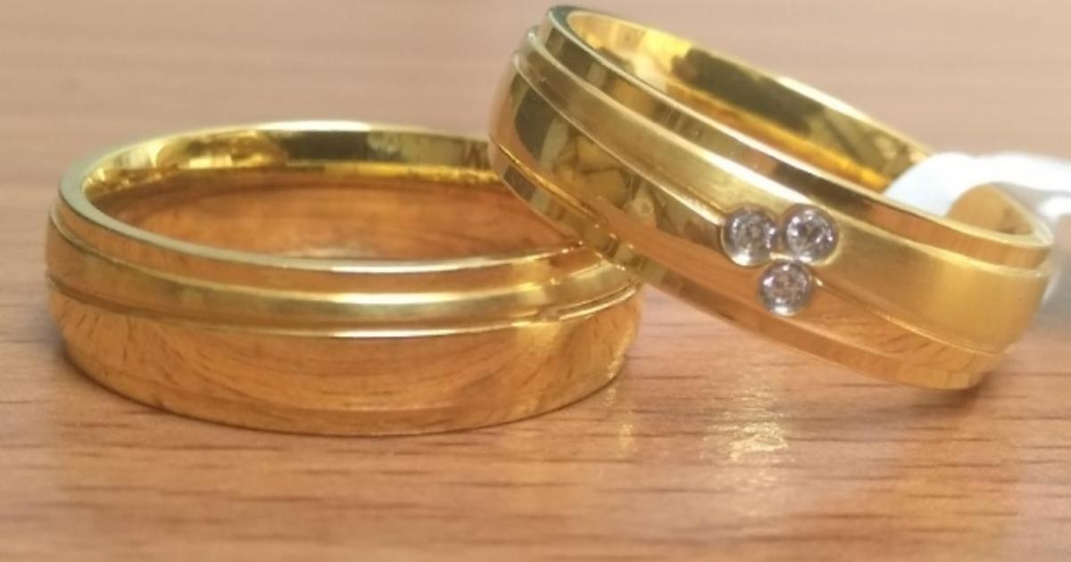 Contoh Cincin Kawin Berbahan Emas Perak Dan Palladium
