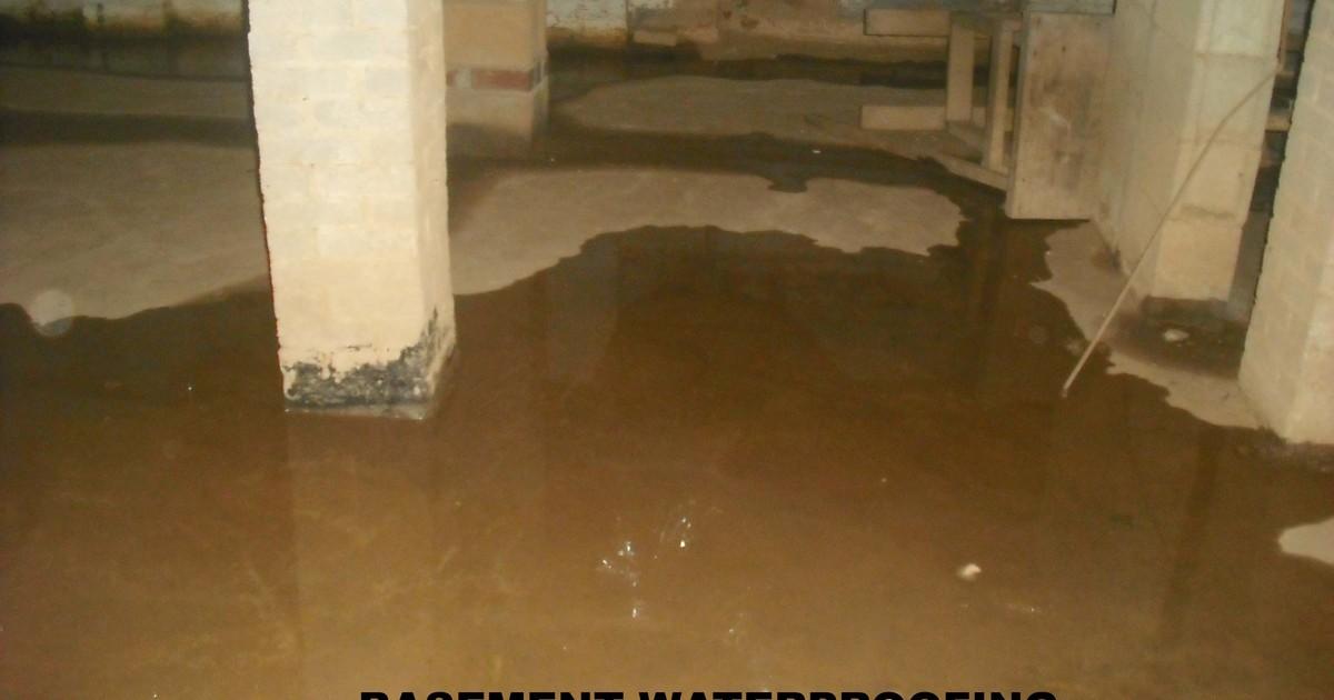 Basement waterproofing  intellivent