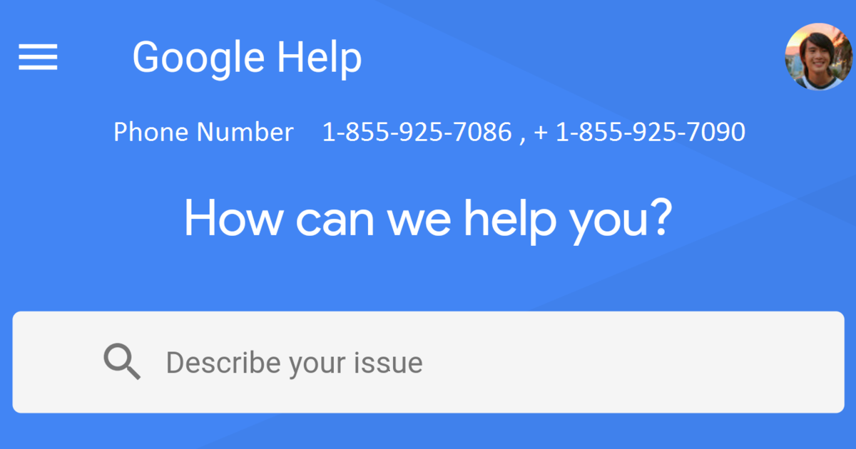 Google customer service phone number live person