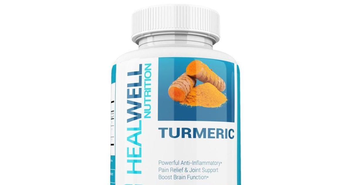 100  turmeric curcumin complex