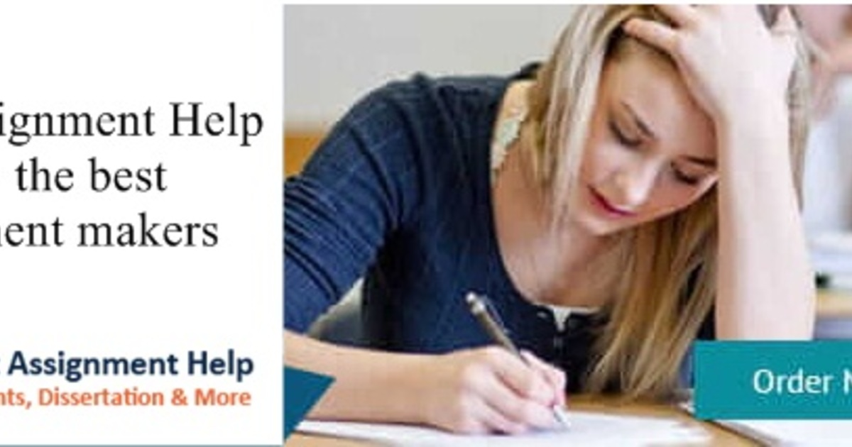 Avail assignment help from the best assignment makers