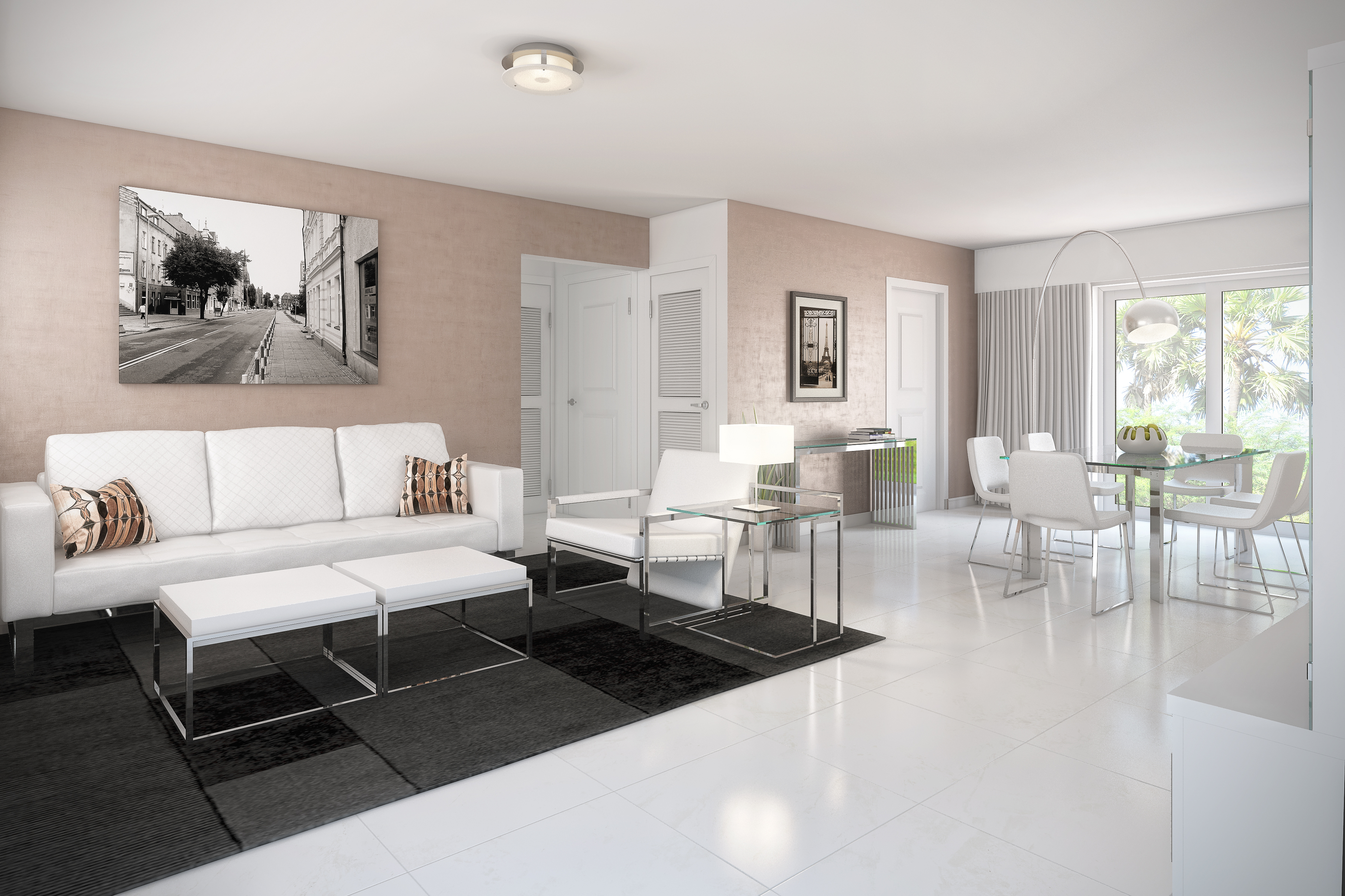 Innovative unit 302 living room 01