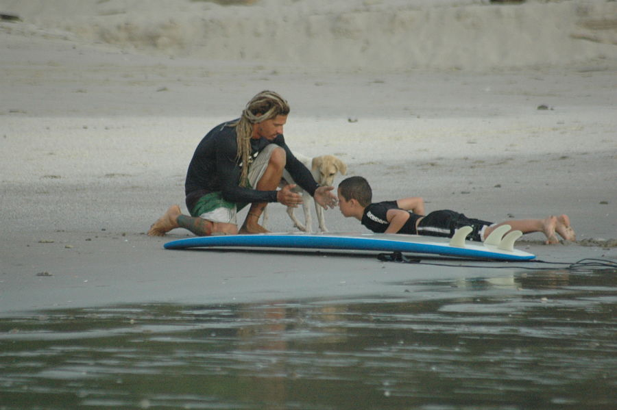Surf Lessons for kids - Costa Rica