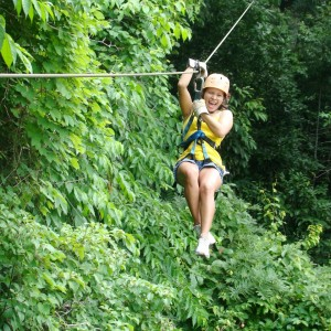 Zip Line in Costa Rica