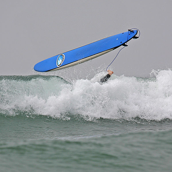 Flying Surfboard in Santa Teresa