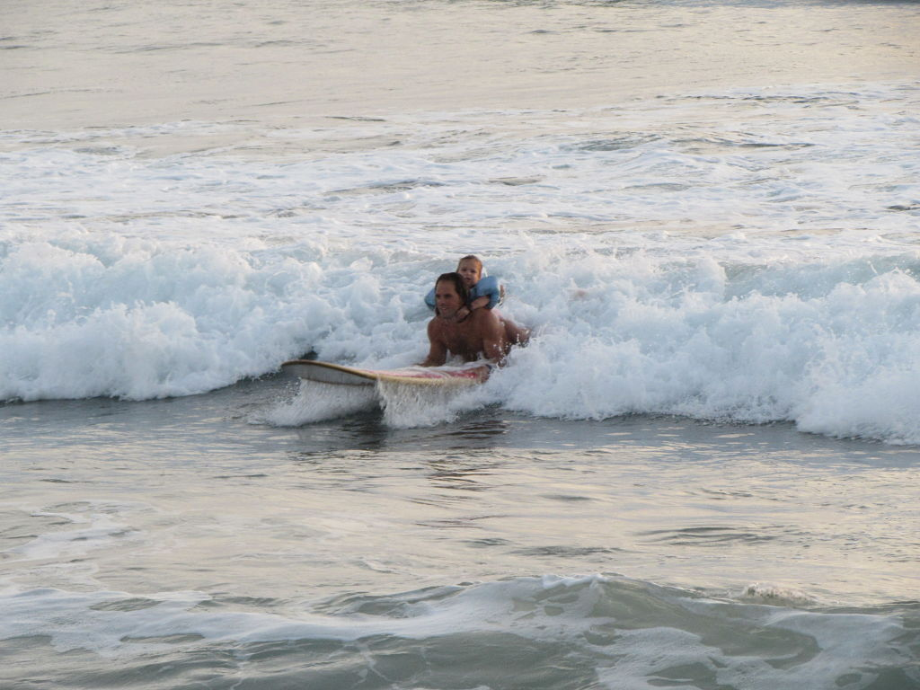 Learning to Surf in Santa Teresa