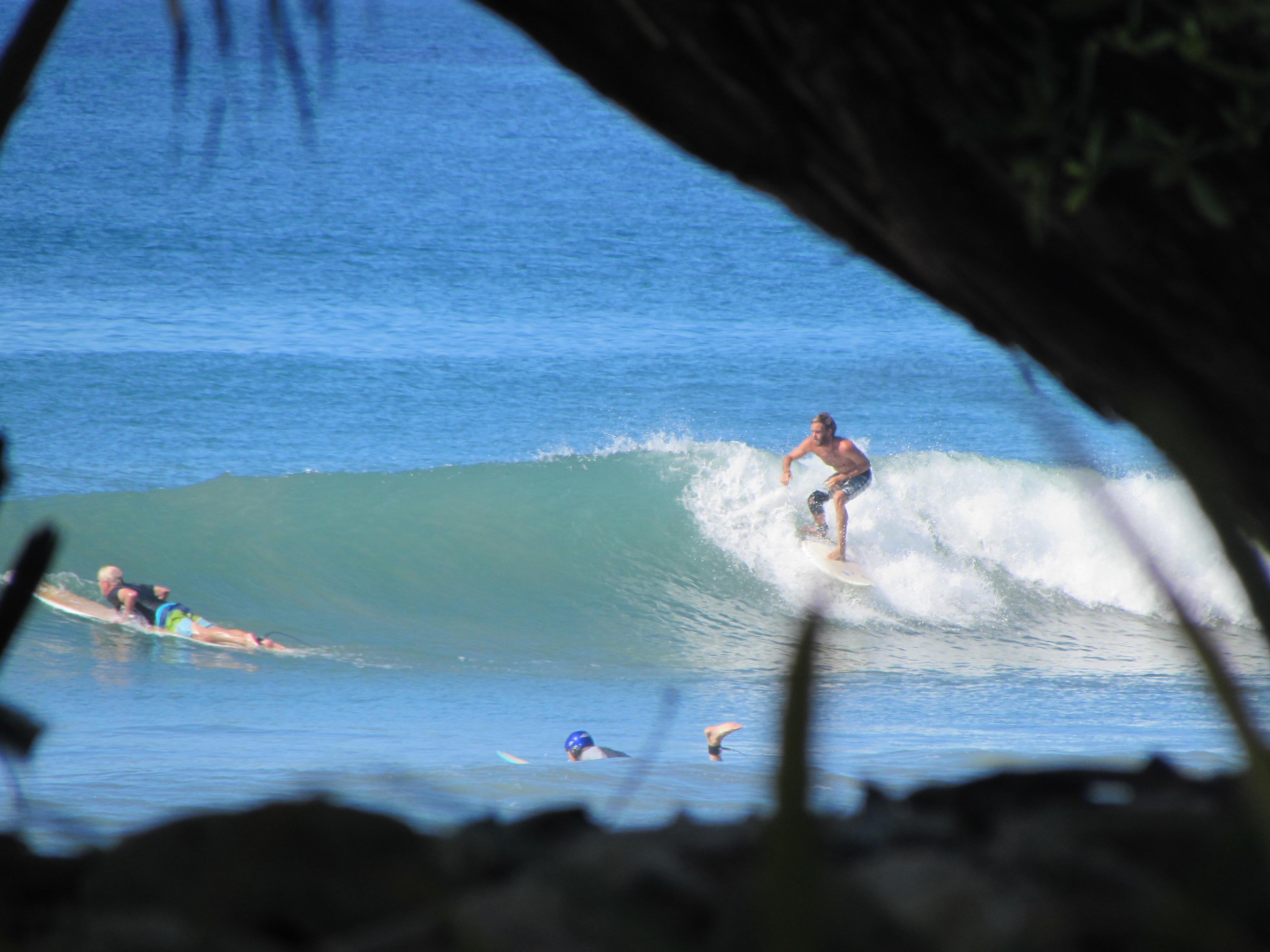 Santa Teresa Beach Surfer
