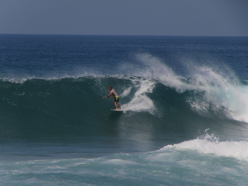 Surfing in Santa Teresa Costa Rica