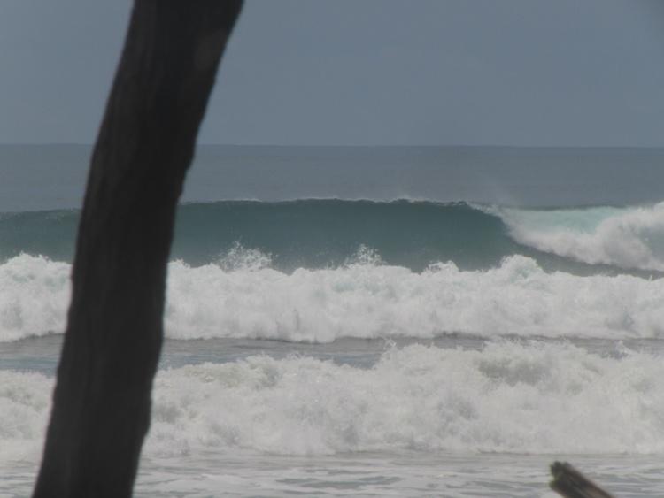 Empty Wave Santa Teresa Costa Rica