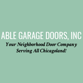 Able Garage Doors, Inc. Logo