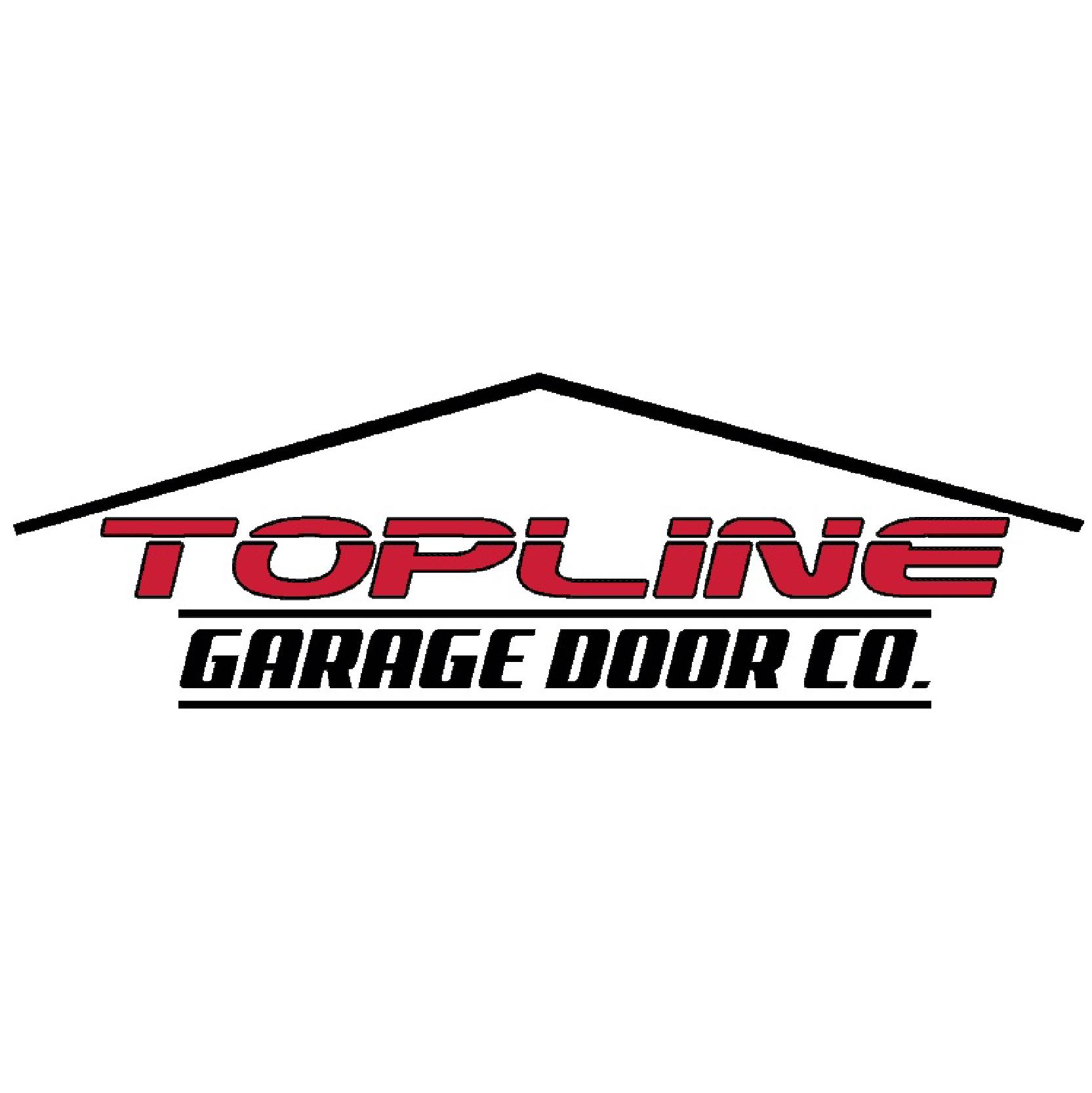 TopLine Garage Door Company Logo