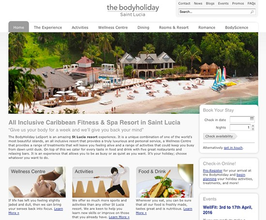 The BodyHoliday