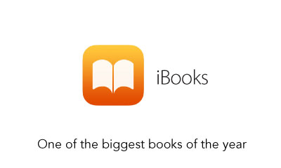iBooks - One of the biggest books of the year