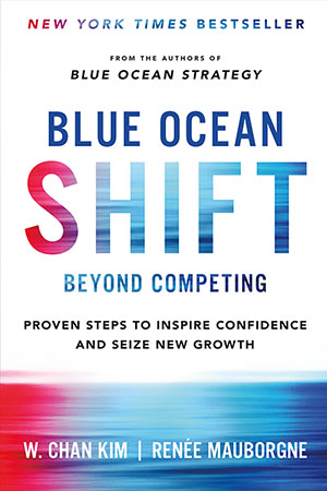 Blue Ocean Shift book