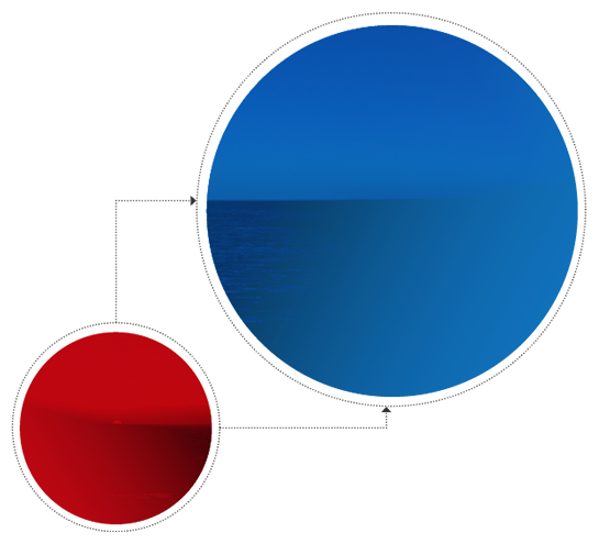 How can you shift your organization from red to blue oceans?