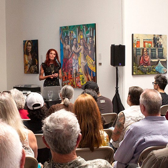 "Erin Currier Artist Talk, June 2019 -- ""From Taos to Laos: Two Decades of Delving into the World's Debris and Emerging with Portraits of Human Dignity"""