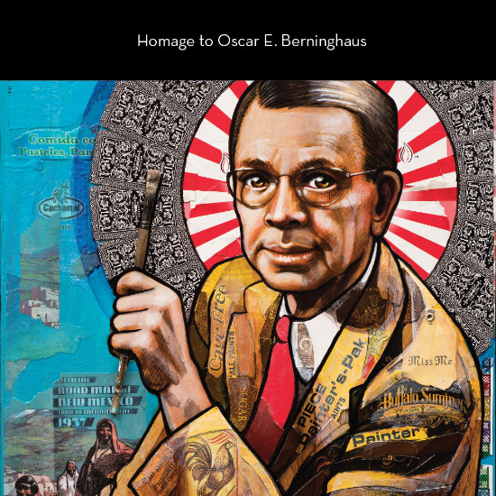 Homage to Oscar E. Berninghaus | View Show Catalog