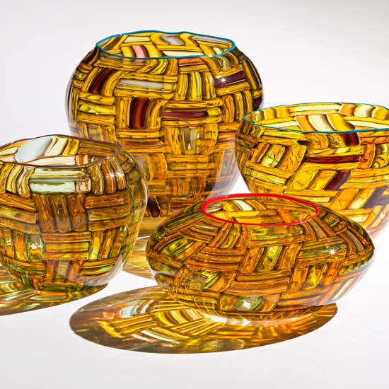 Dan Friday: Glass Baskets and Totems