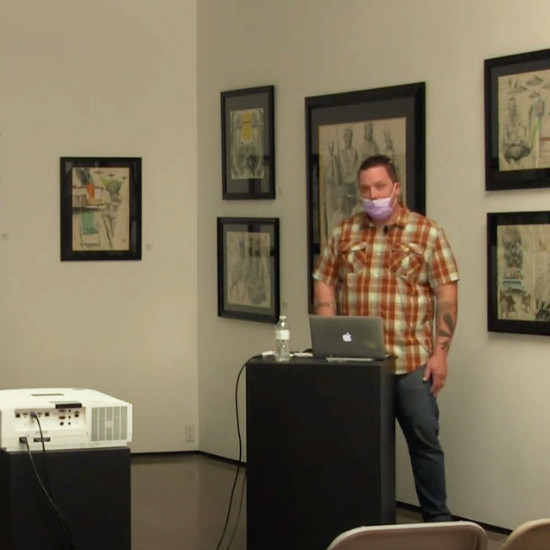 Dan Friday Artist Lecture