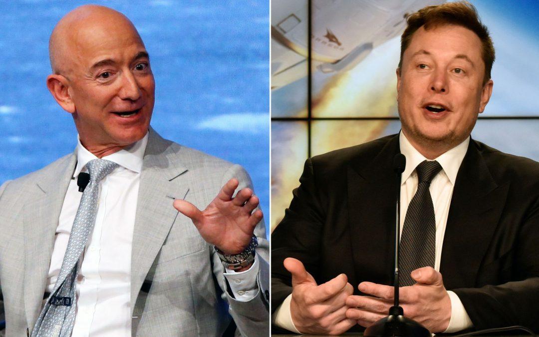 Elon Musk Trolls Jeff Bezos With 'Below The Belt' Tweet…