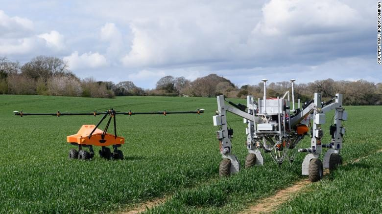 """""""Terminator Robot""""  Shoots Weeds With Lasers?"""