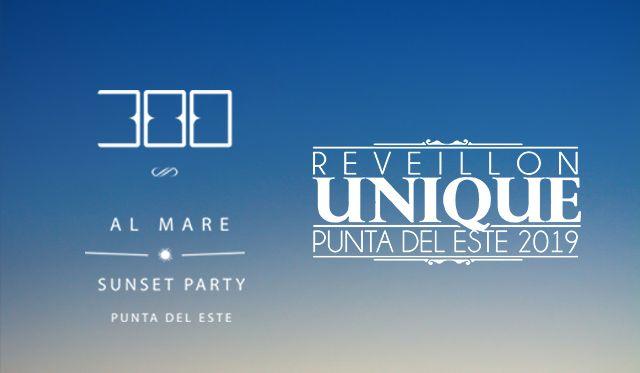 300 Al Mare + Reveillon Unique 2019 - Passaporte
