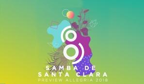 Oito Atlântida - Samba de Santa Clara - Preview Allegria