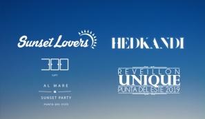 Sunset Lovers + Hed Kandi + 300 Al Mare + Reveillon Unique 2019
