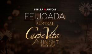 Feijoada Stella Artois Austral e Carpe Vita Exclusif